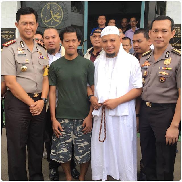 Nurul Fahmi tak Menyangka Bakal Dijamin dan Dijemput Ustaz Arifin Ilham
