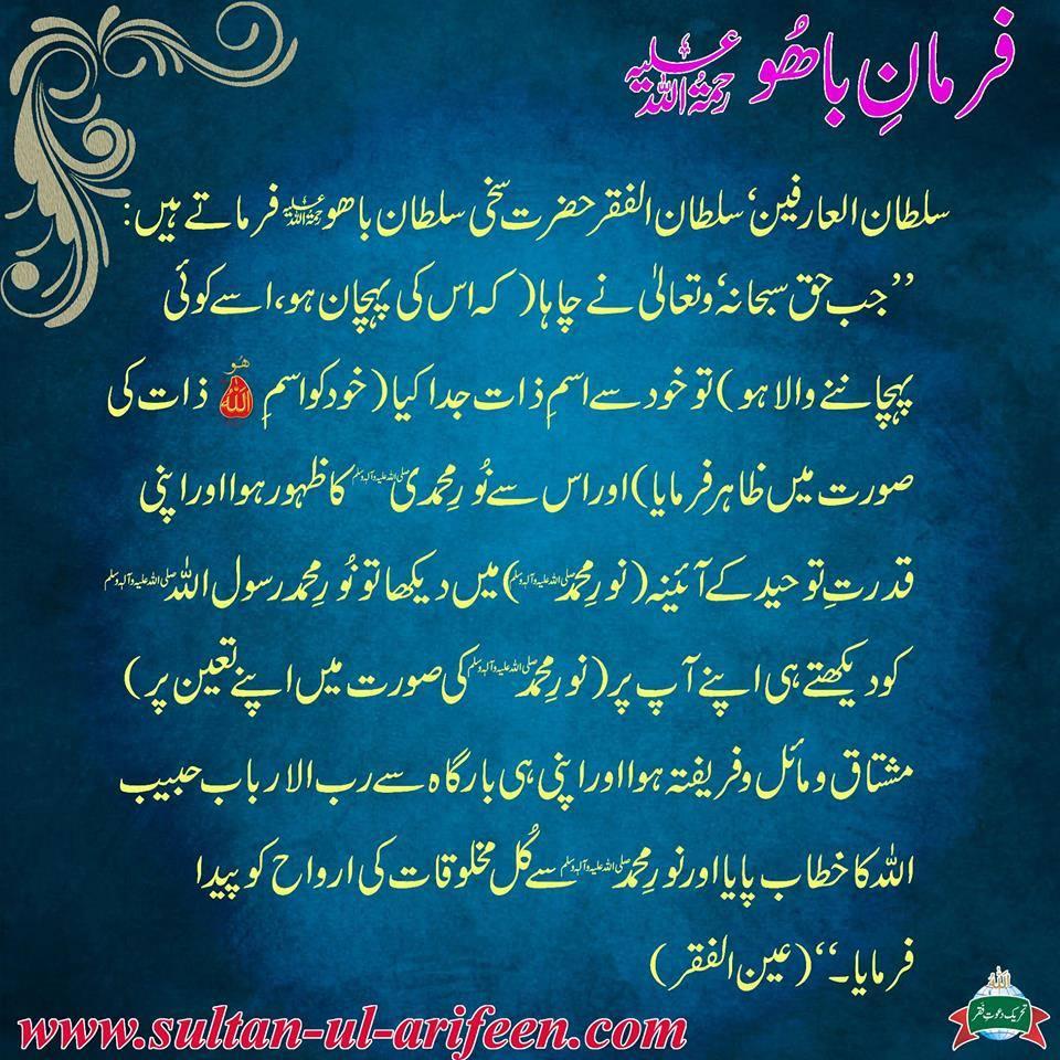 Hazrat Sultan Bahu Books In Urdu Pdf