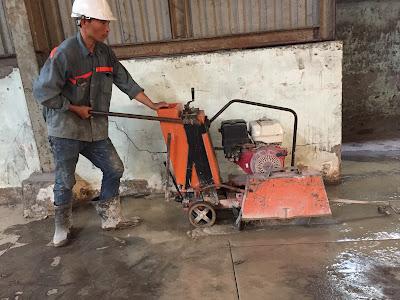 Khoan cắt bê tông tại  phường An Lợi Đông
