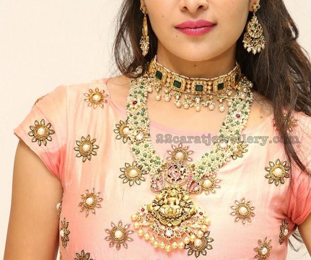 Supraja Reddy in Kundan Jewelry