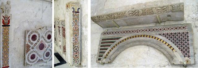 Vestígios arqueológicos na Catedral de Santo André, em Amalfi