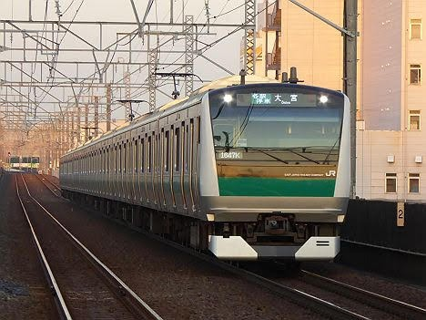 りんかい線 埼京線直通 各駅停車 大宮行き3 E233系