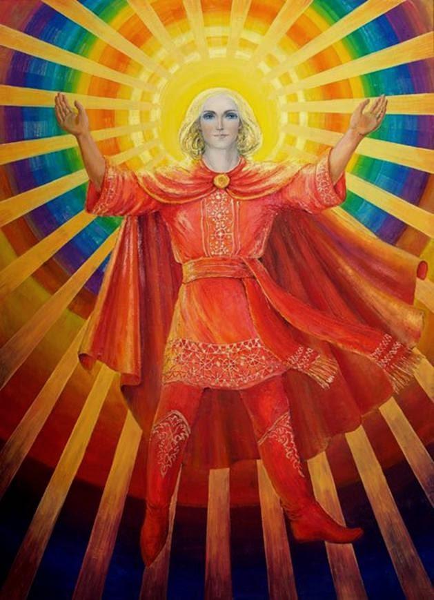 бог солнца на Руси