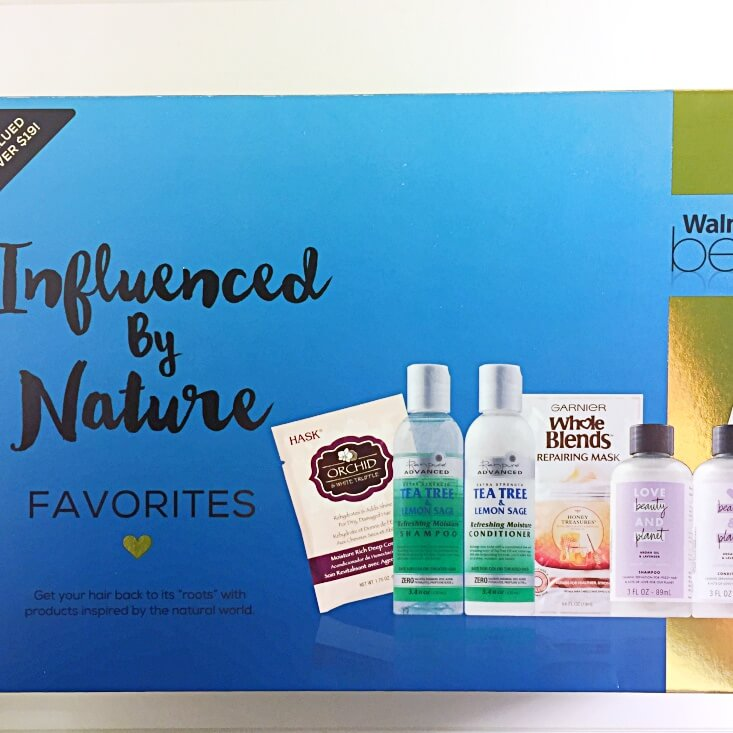 Walmart Beauty Favorites Box Influenced by Nature