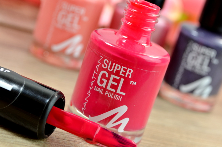 Manhattan Super Gel Nail Polish neue Farben