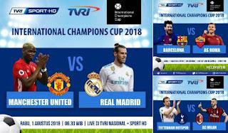 Jadwal ICC 2018 Rabu 1 Agustus 2018