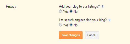 How To Stop All Search Engines From Indexing Your Blogger