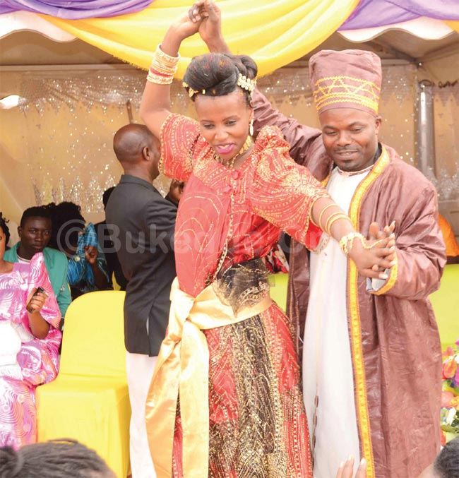 Beautiful bride reportedly runs mad during traditional marriage in Uganda