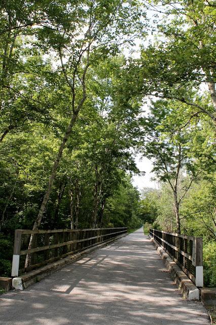 Uno de los puentes antiguos de la Atlantic Coast Line