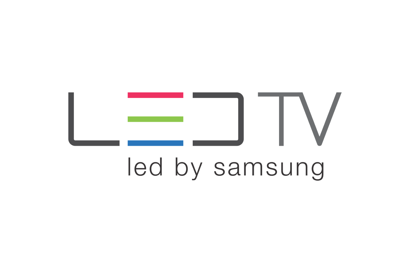 Led Tv By Samsung Logo