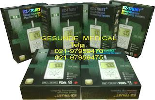 Distributor Alat Tes Gula Darah EZ-Trust BG-1000