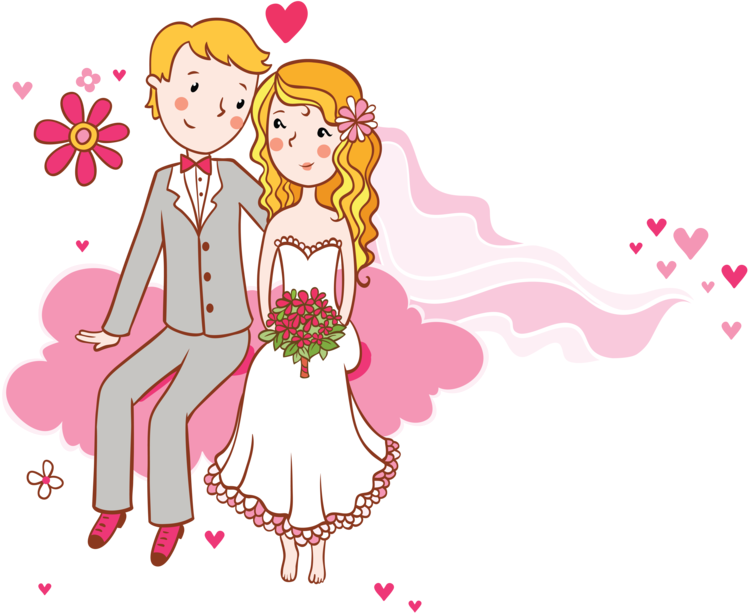 Прикольные картинки жених с невестой, юбилеем оля красивые