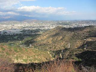 View east toward Glendale from Hogback Ridge
