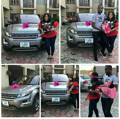 'She Used To Come To My House With Keke' - Man Buys His Wife Range Rover (Pics)