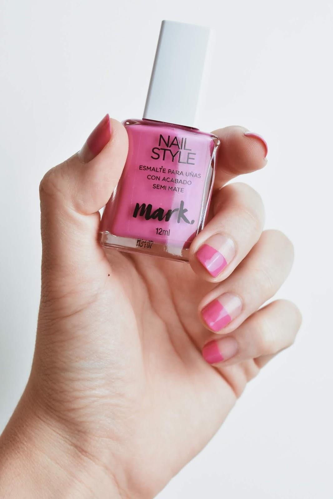 simple nail art esmalte sencillo decoracion de uñas facil rapida quick styles nails 3