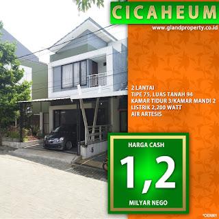 rumah second rumah bekas cicaheum