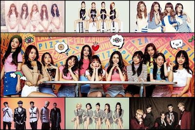 bahkan grup yang sudah cukup besar namanya Daftar Grup K-pop yang bubar pada tahun 2017