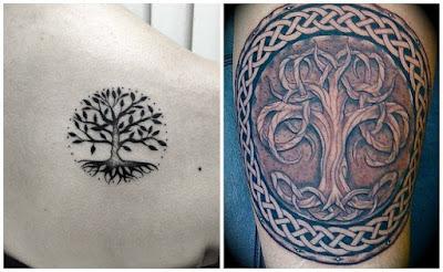 Tatuajes De árboles Celtas De álamo Tu Tatuaje