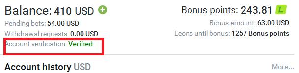 leon bets bonuscode