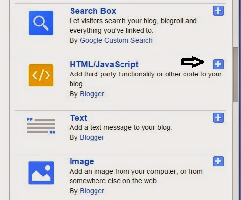 Add scrolling buttons in bloggers blog
