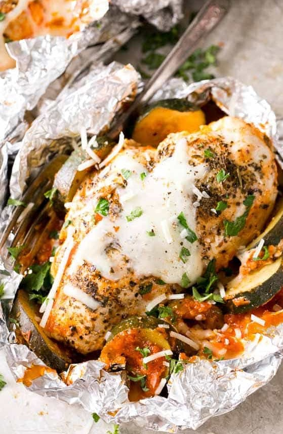oven grilled parmesan chicken recipe