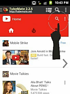 Mobile me tubemate se youtube video download kare 3
