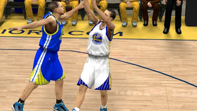 NBA 2K13 Golden State Warriors Jersey Patch