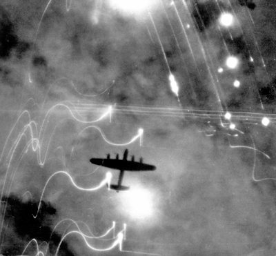 UFO Incident April 25, 1945: Bomber Pilot Encounters UFO, Loses Power