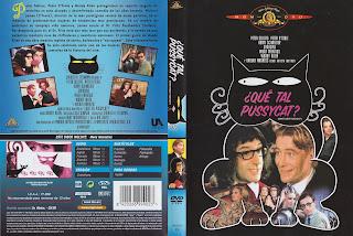 Caratula dvd de: ¿Qué tal, Pussycat? (¿Qué tal, gatita?)
