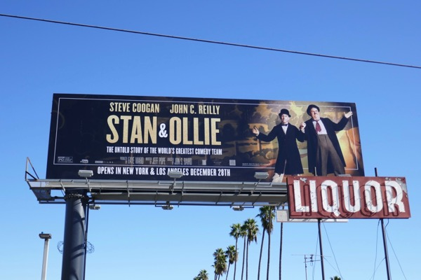 Stan Ollie movie billboard