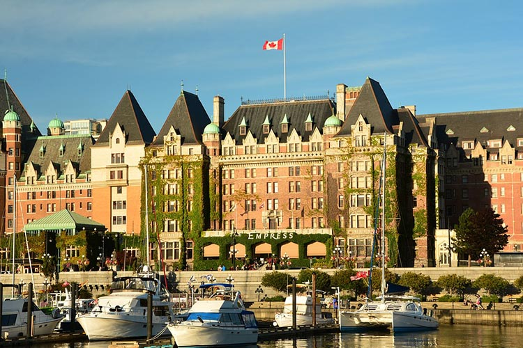 Booking at one of the best Victoria Hotels