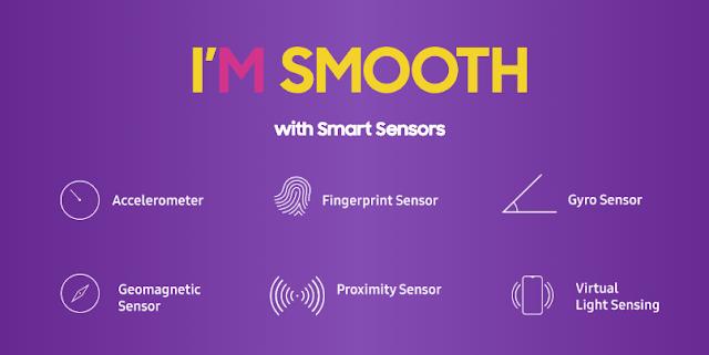 Samsung Galaxy M30 Sensors