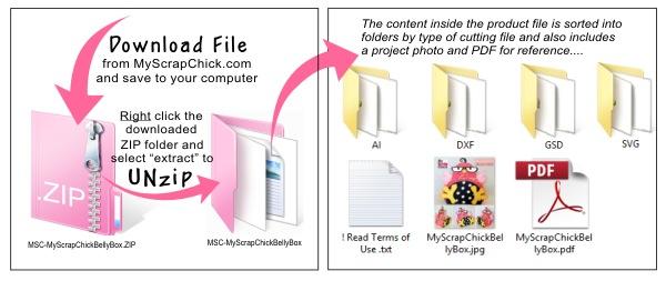 how to change a zipped folder to unzipped