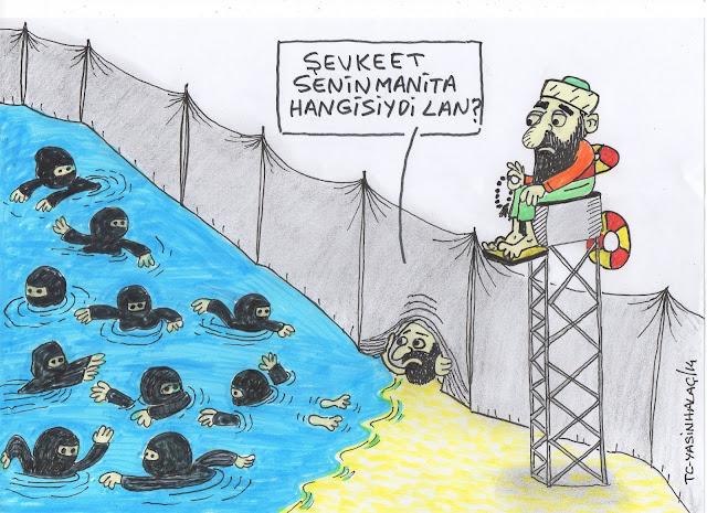 diyanet 2019 turizm planı karikatür