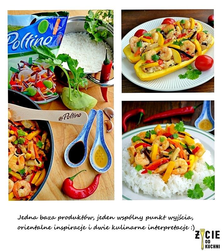 poltino, bukiet chinski, warzywa chinskie, on i ona w kuchni, mrozonki poltino, cukinia faszerowana, zycie od kuchni