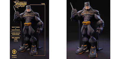 "Designer Con 2018 Exclusive Batman ""The Protro Knight"" Resin Figure by Tracy Tubera"
