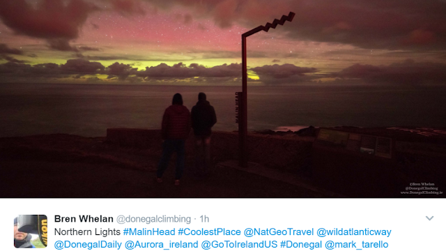 Click to See The Magical Northern Lights In Inishowen
