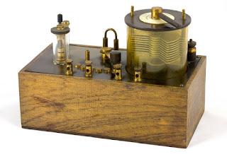 Radio antigua de galena del blog del Neomano