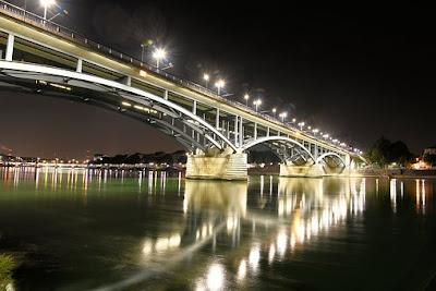 Il Reno di notte