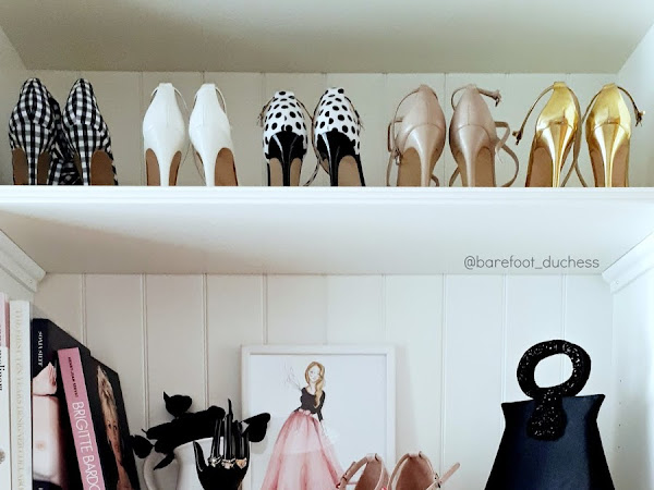 My Walk-In Closet // Home Decor