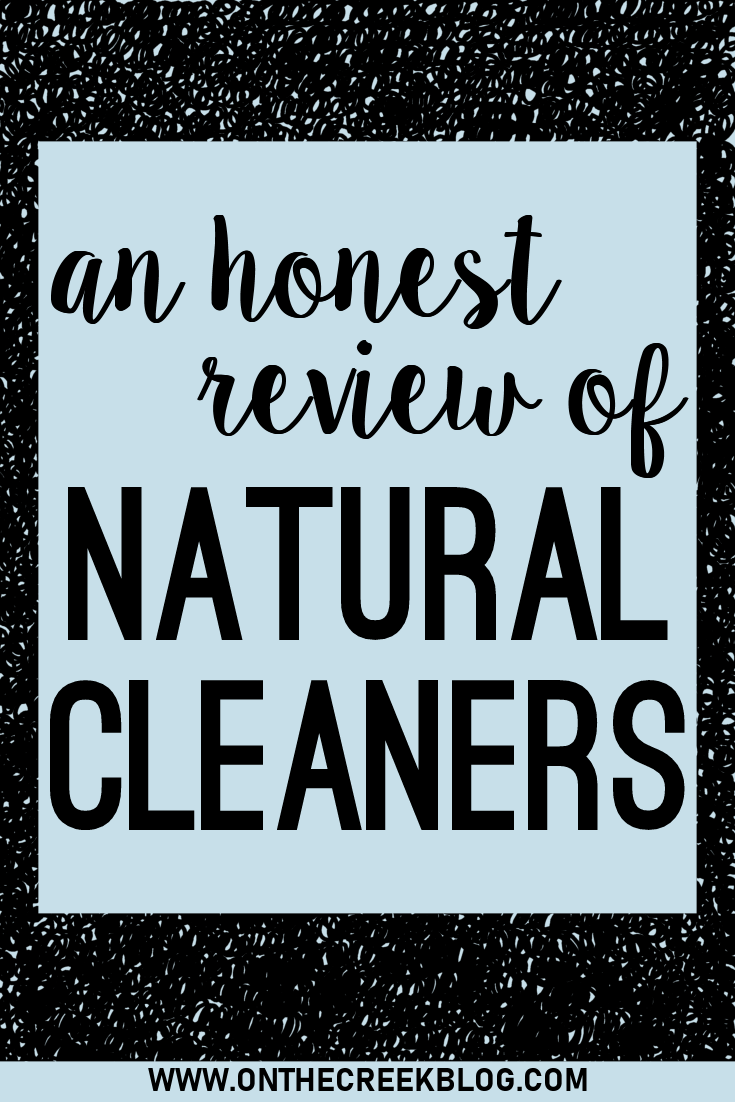 An honest review of all natural, plant based cleaning products! Do they really work as well as the more toxic alternatives?