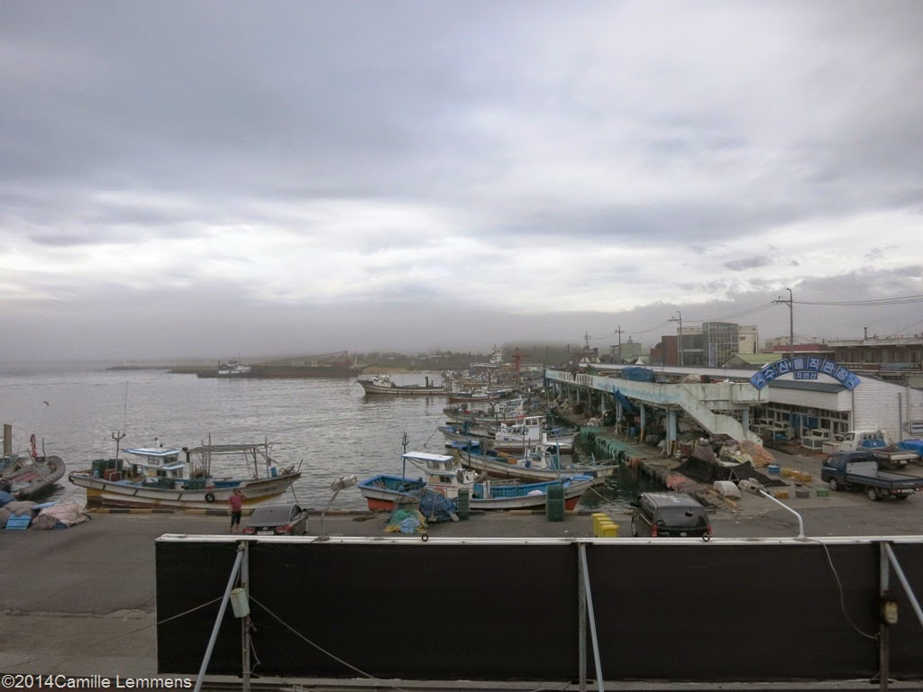 Sacheon-myeon harbor