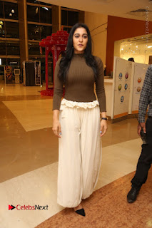 Actress Regina Candra Pos at Asian Para Badminton Championship Winners Felicitation Ceremony  0081.JPG