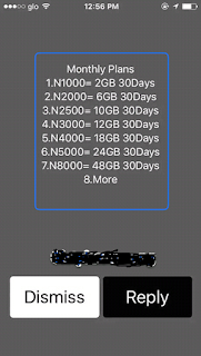 Glo new cheap data plan subscription code