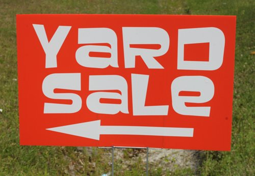 Garage sale signs What not to do and how to drive traffic to your