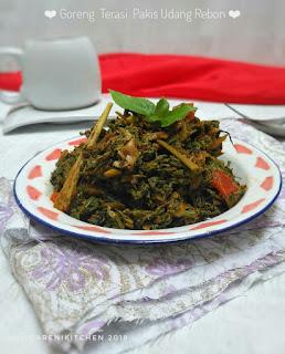 Ide Resep Masak Sayur Goreng Terasi Pakis Udang Rebon