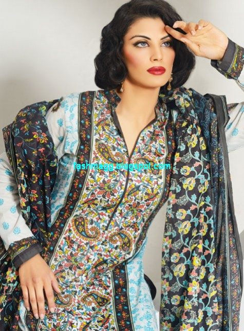 Al Karam Textile Summer Spring Lawn Collection 2013 Indian