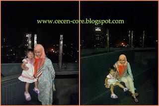 Epi Friezta Dewi Hasibuan & Clarissa - Rooftop Hotel Gino Feruci Braga