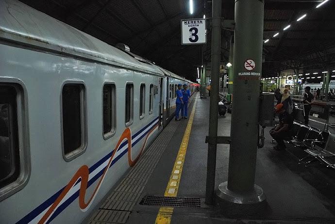 Tren en la estación