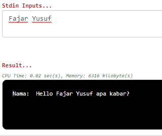 Menggunakan Fungsi format()